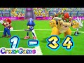 Mario & Sonic At the London 2012 Olympic Games - Team Sonic, Bowser Play Football | CRAZYGAMINGHUB