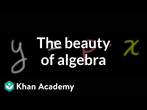 The Beauty of Algebra