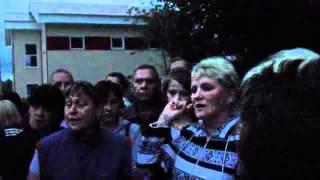 Разговор жителей Демьяново и представителей власти