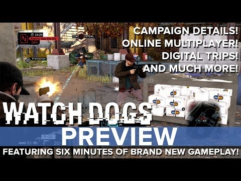 Watch Dogs - Eurogamer Preview