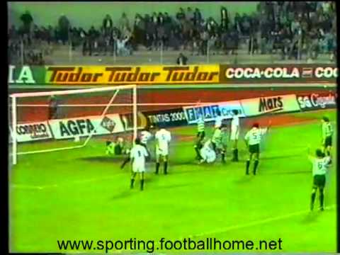 20J :: Nacional - 1 x Sporting - 1 de 1989/1990