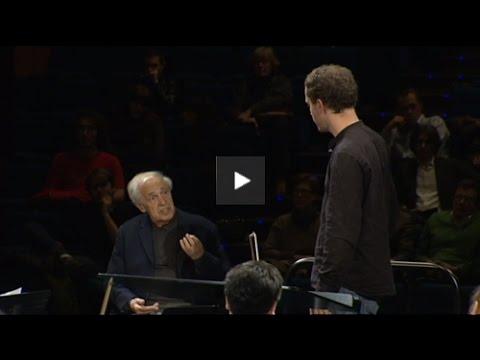 Master-class Pierre Boulez - 1ère partie - UCZknCaWRtKJoXJgflXezr5Q