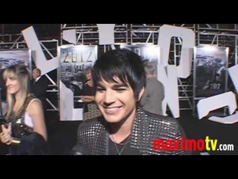 ADAM LAMBERT Interview at 2012 Premiere Arrivals - maximotv