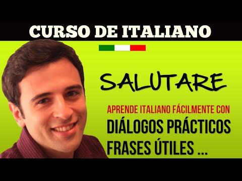 Curso de Italiano - Saludos y Despedidas - Aprender Italiano