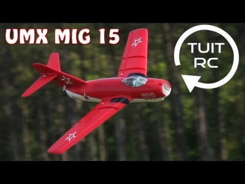 E-Flite UMX Mig 15 Maiden Flight Raw and Uncut Right Out Of the Box - UCguLtv7WI_rTVjxQAKEntzw