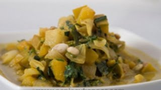 Spinach and Pumpkin Curry ..