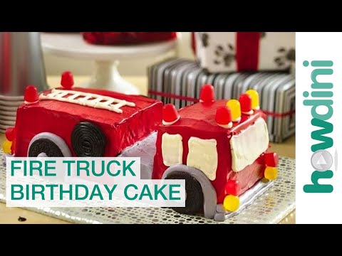 Birthday Cake on Fire Truck Birthday Cake Decorating Ideas   How To Make A Cake