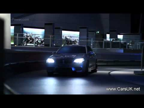 2012 BMW M5 Concept drive
