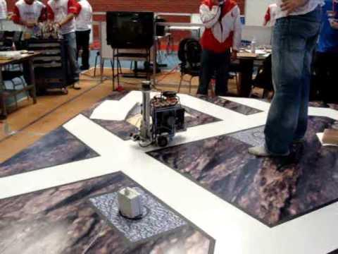 De olho na Olimpíada do Conhecimento SENAI 2009 - Robótica Industrial