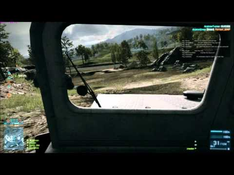 Battlefield 3 BETA - Conquest on Caspian Border gameplay (PC Ultra settings)