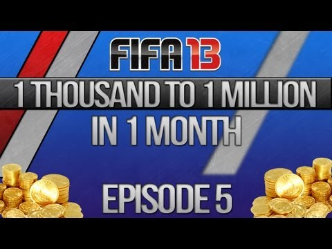 "FIFA 13 UT | 1 Thousand to 1 Million in 1 Month - Episode 5 ""Nearly at 100k!"""
