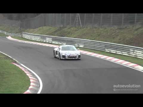 Spy-Video vom neuen R8 auf dem Nürburgring