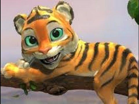 Tiger Boo - English Version  (Cute Cartoon Songs)