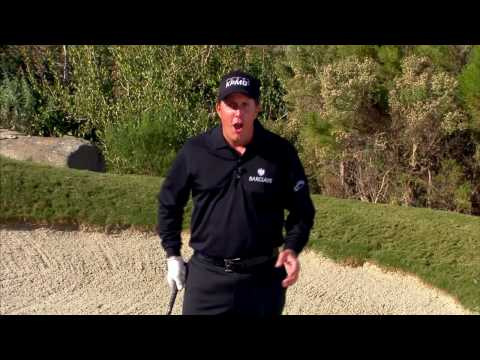 Phil Mickelson's Two Ball Trick Shot