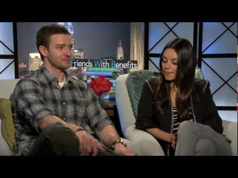Justin Timberlake and Mila Kunis interview - FRIENDS WITH BENEFITS - Patricia Clarkson