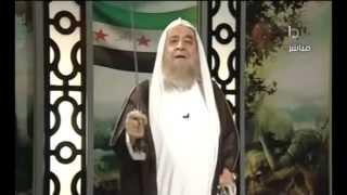 عدنان العرعور يشهر السيف الذي يضرب الرئيس بشآر mqdefault.jpg