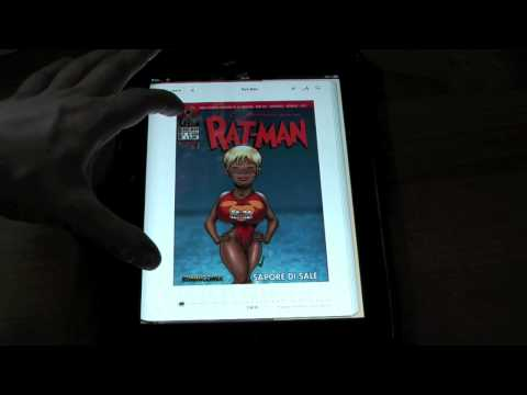 iBooks Vs Good Reader: La sfida dei fumetti su ipad ipadevice comics rat man ratman