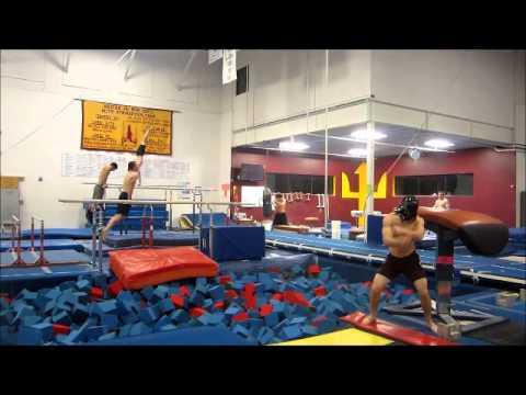 ASU Men's Gymnastics Harlem Shake