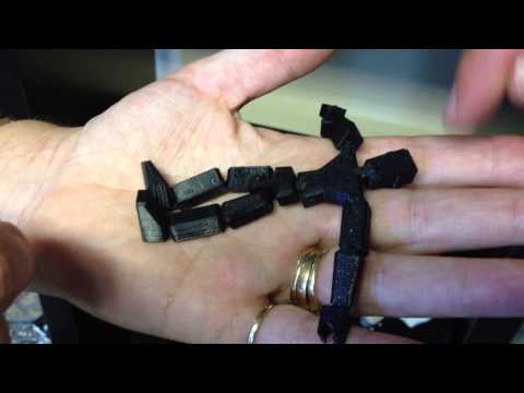 3D Printing Toys- A Stick Figure With Moving Parts