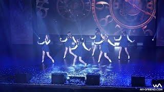 GFRIEND最近舞蹈正常登台,高難度的迴旋舞步粉絲學不起!
