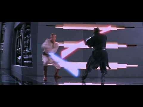 Star Wars The Pantom Menace : Final Battle - Qui-Gon Jinn and Obi-Wan vs Darth Maul (VO)