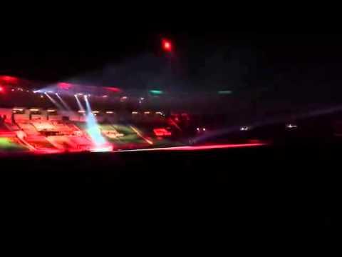 بالفيديو :  شاهد تسريب لقطات من افتتاح كأس العالم للاندية بالمغرب