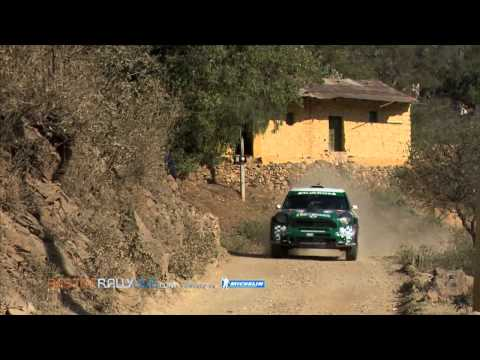 Highlights from the leg 2 - 2012 WRC Rally Mexico - Best-of-RallyLive.com
