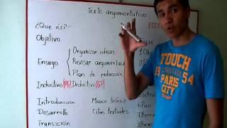 ¿Como hacer un texto argumentativo?