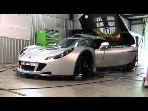Afterburner:  Hennessey Venom GT Hits the Dyno