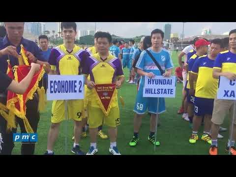 Hyundai Hillstate – Giải bóng đá chung cư Hà Nội