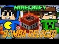 Minecraft: BOMBA-RELÓGIO (Mini-Game Novo)
