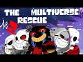 Comics The Multiverse Rescue | Undertale Глава 1 часть 2 (Озвученный Комикс)
