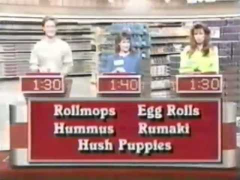 Supermarket Sweep of Champions (5/7/90) | Matt & Scott vs. Kevin & Julie vs. Tani & Lani