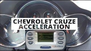 Chevrolet Cruze 1.8 LPG 141 KM - acceleration 0-100 km/h