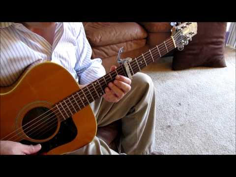 How to play Here Comes The Sun guitar lesson Beatles Harrison Tutorial