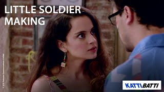 Little Soldier Making - Katti Batti