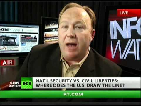 Alex Jones: Senate wants martial law in America