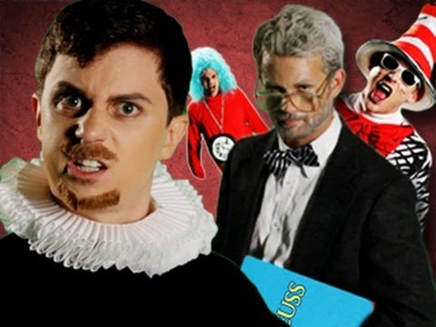 Dr Seuss VS Shakespeare. Epic Rap Battles of History #12