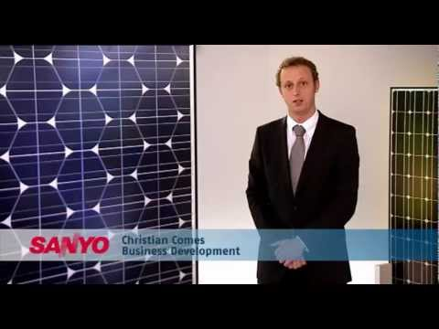 SANYO HIT Solar Module TV Commercial