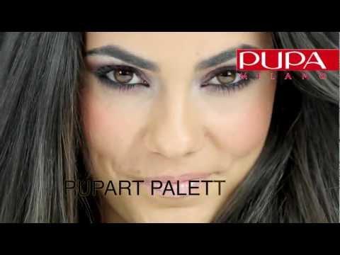 Trucco occhi scuri con palette PUPART N 003 | Make-up school by Giorgio Forgani di PUPA Milano