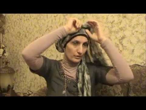 Hijab 2011- Tutorial # 8(Cute Hijab w/ Flower)