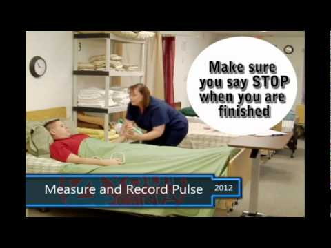 Measure and Record Pulse CNA Skills