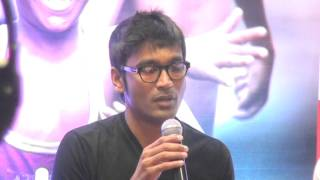 Ramesh & Vignesh Performance is Amaizing Says Dhanush at Kakka Muttai Trailer Launch