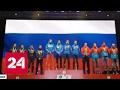 На ЧМ по биатлону включили не тот гимн, но россияне не растерялись и спели правильный