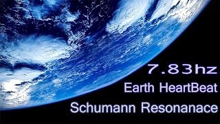~ Schumann Resonance - Connect To Earth Rhythm ~ 7.83hz Theta Binaural Beats | Healing Nature Music