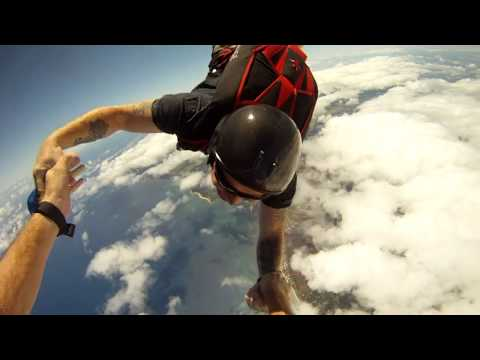 Skydiving in Paradise - Part II - GoPro HD skydiving