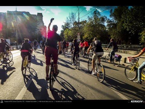 VIDEOCLIP Vrem un oras pentru oameni! - 2 - marsul biciclistilor, Bucuresti, 24 septembrie 2016 [VIDEO]