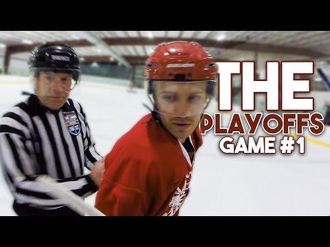 GoPro Hockey | THE PLAYOFFS (GAME #1)
