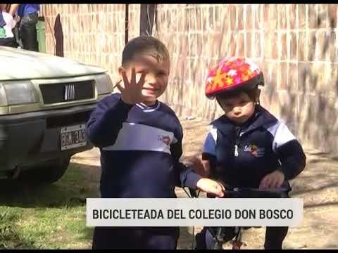 Bicicleteada para festejar los 202 años de Don Bosco en Paraná