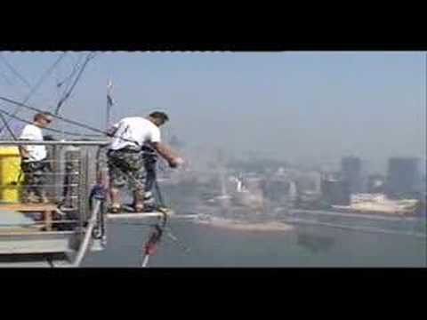 Macau Bungy jump - World-s Tallest Bungy